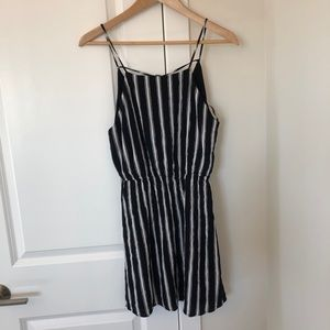 Forever 21 Striped Tank Dress Large